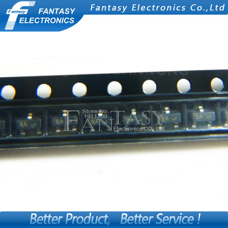 50PCS BSS138 Field Effect Transistor SOT-23 New