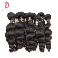 Brazilian Virgin Hair Loose Wave 100 Unprocessed Natural Color Human Hair Weave Bundles Wholesale 10 Bundles Free Shipping