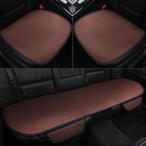 Image 5 - カーシートクッション車のシートカバー、カーシートマット。小片セット一般的なビスコースのカーシートシングル夏クッション