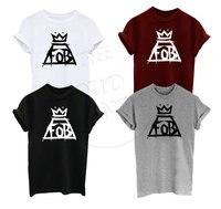 Fall Out Boy FOB Music Tour Indie Rock N Roll Crown Logo Men S Women S