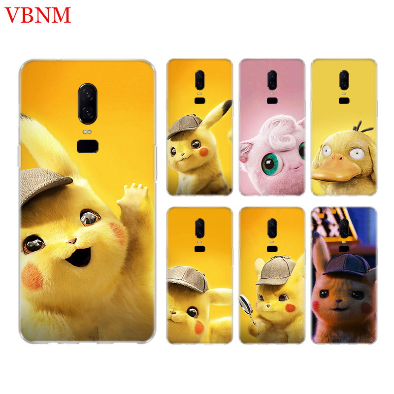 Pikachue Movie Funny Fit Phone Back Case For OnePlus 7 Pro 6 6T 5 5T 3 3T 7Pro Art Gift Patterned Customized Cases Cover Coque