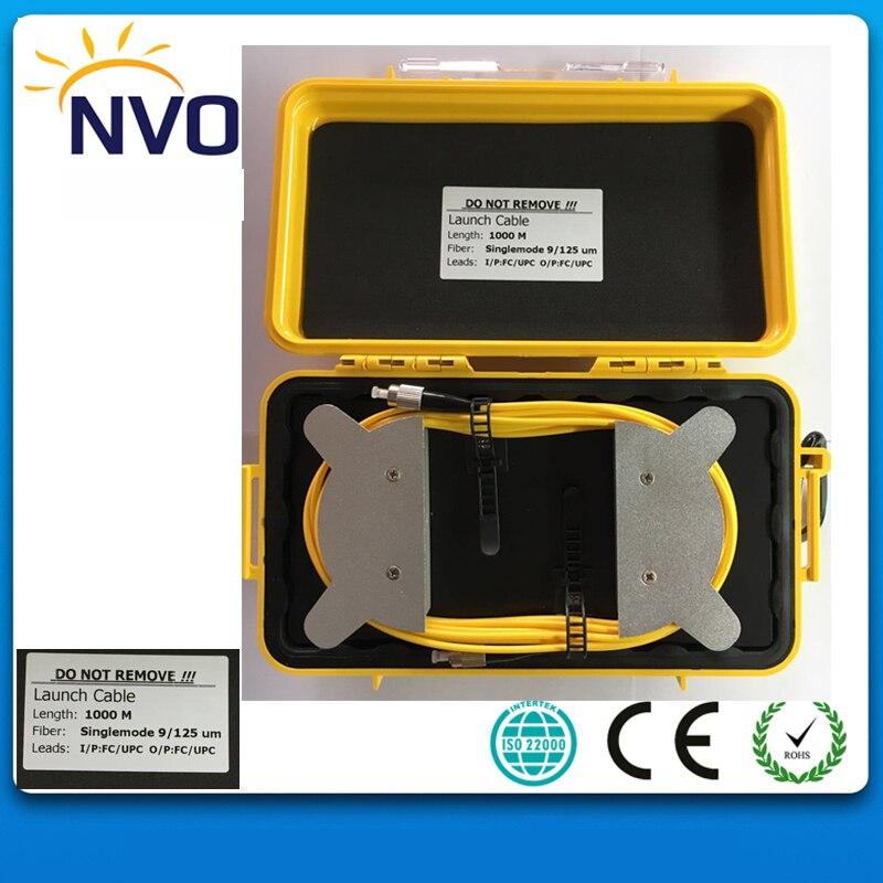 OTDR-FC/PC-SC/UPC-9/125 G652D-1000M,1310/1550nm OTDR Dead Zone Eliminator,Fiber Rings ,Fiber Optic OTDR Launch Cable Box