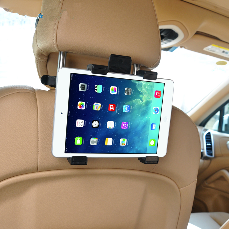 universal car tablet holder back seat soporte tablet support for android tablet PC stand for a tablets