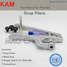 Wholesale 5 Pcs KAM Brand Metal Press Pliers Tools For Snap Buttons Used for T3 T5 T8 all can be suitable DK001
