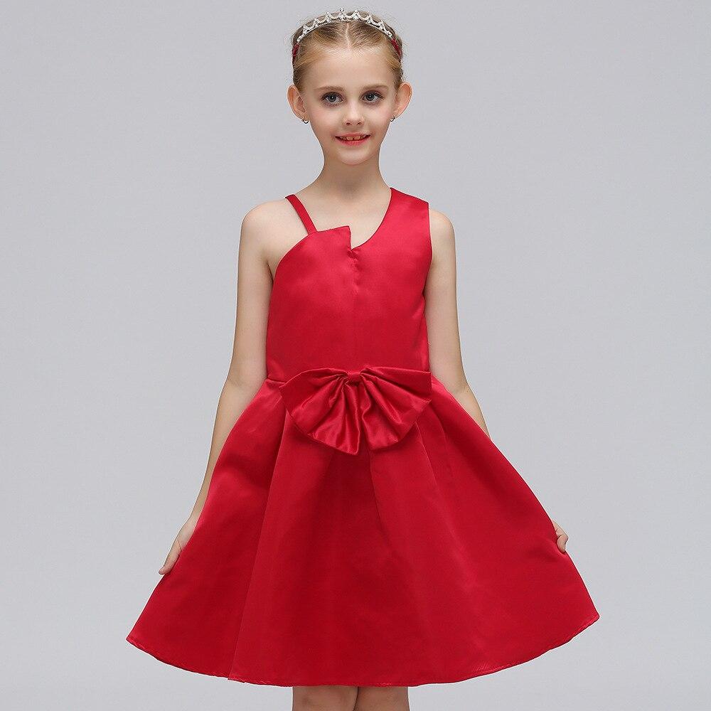 Schön Rotes Partykleid Für Kinder Und Jugendliche Bilder ...