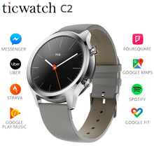 Ticwatch C2 Smart Watch Google Pay Wear OS by WIFI GPS Fitness Tracker IP68 Waterproof 1.3 AMOLED Long Standby