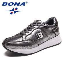 BONA New Arrival Classics Style Women Running Shoes Outdoor Jogging Sneakers Synthetic Women Athletic Shoes Fast Free Shipping стоимость