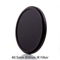 40.5mm IR85 Filter 850nm Infrared IR Optical Grade Filter for Camera Lens