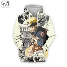 PLstar Cosmos Naruto 3D Printed Hoodie Mens Womens hip hop apparel boy for girl hoodies Uzumaki jacket drop shipping