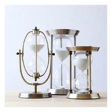 Sand Hourglass Timer Home Decoration Desktop Clock Timers 15minute/30minutes/60minutes Furnishing Gift Craft