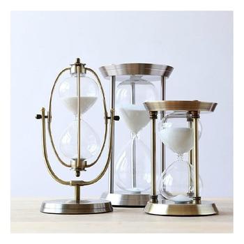 Sand Hourglass Timer Home Decoration Desktop Sand Clock Timers 15minute/30minutes/60minutes Hourglass Furnishing Gift Craft фото