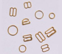 100 pçs/lote 6mm/8mm/10mm/12mm/15mm/20mm ouro anel deslizante sutiã gancho acessório(China)