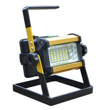 Waterproof IP65 LED Flood light 36LED 30W Portable Spotlights Rechargeable Outdoor LED Work Emergency light