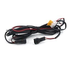 Eonstime, 2 шт., 20 см, COB, Светодиодные Автомобильные дневные ходовые огни, супер-белая предупреждающая лампа, монтажный кронштейн 12 В/24 В Е4
