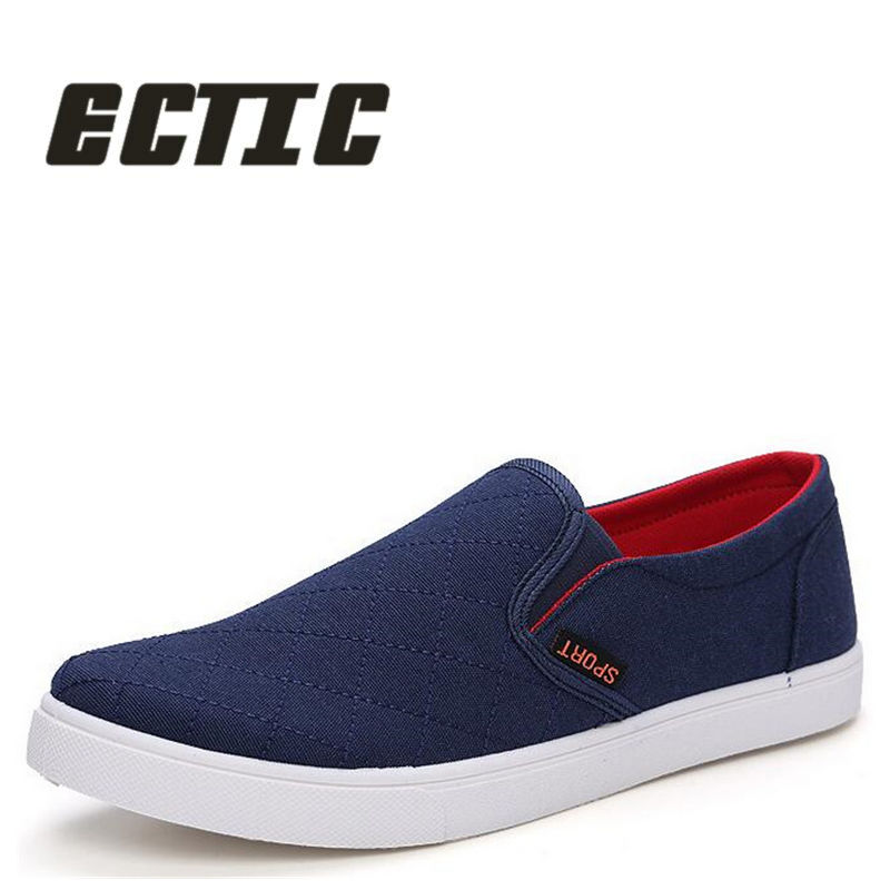 ECTIC 2018 fashion Casual canvas shoes soft Summer sneakers Young Flats canvas shoes Comfortable baby Breathable loafers DD-013