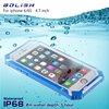 IP68 2m 1hour Certification Water Dirt Shock Proof For Iphone 6 6s Case Cover For Iphone