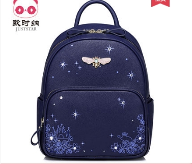 Princess sweet lolita bag Spring and summer Korean vision fashion and leisure students Backpack School wind Backpack 171148 400 have 24 colours wholesale korean fashion pu zipper primary and secondary school students backpack 20171201