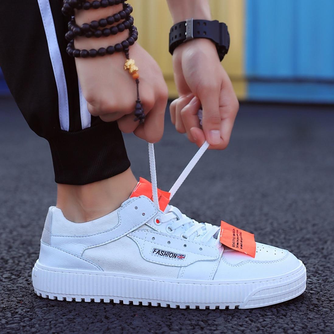 top Taille slip 44 Chaussures Designer Casual Beige Patchwork Dentelle Anti Hip Hop blanc Respirant Up Plat Hommes Marque Mâle kaki Sneakers Bas Toile 39 wqFXU4U