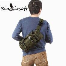Hohe Qualität Haushälterin Military Ultra-light hik Taschen männer Hüfttasche sollte Pack Mochilas Molle Tasche G # J6