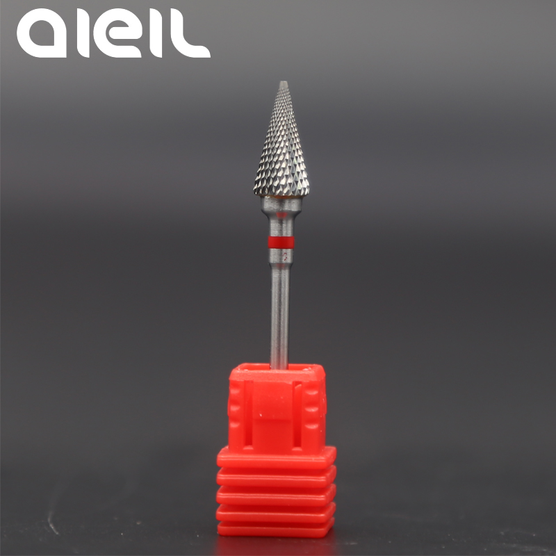 Image 2 - Ceramic Milling Cutters For Manicure Nail Drill Bits Ceramic Tungsten Carbide Nail Drill Bits Manicure Milling Cutters For Nail-in Electric Manicure Drills from Beauty & Health