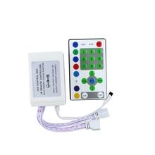 LEEDSUN светодиодный RGB контроллер DC12V иК 25 ключ светодиодный лента работает пульт дистанционного управления освещением