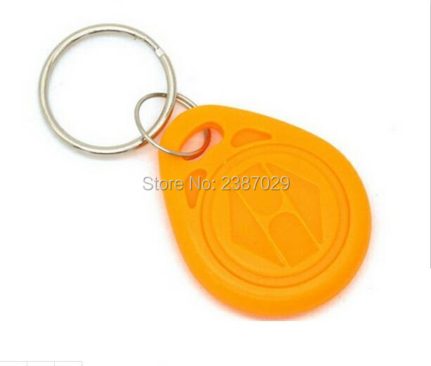 10pcs/lot rfid key 125khz key fobs tag EM4100 key chain proximity chip waterproof rfid tag for card readers 10pcs/lot non standard die cut plastic combo cards die cut greeting card one big card with 3 mini key tag card