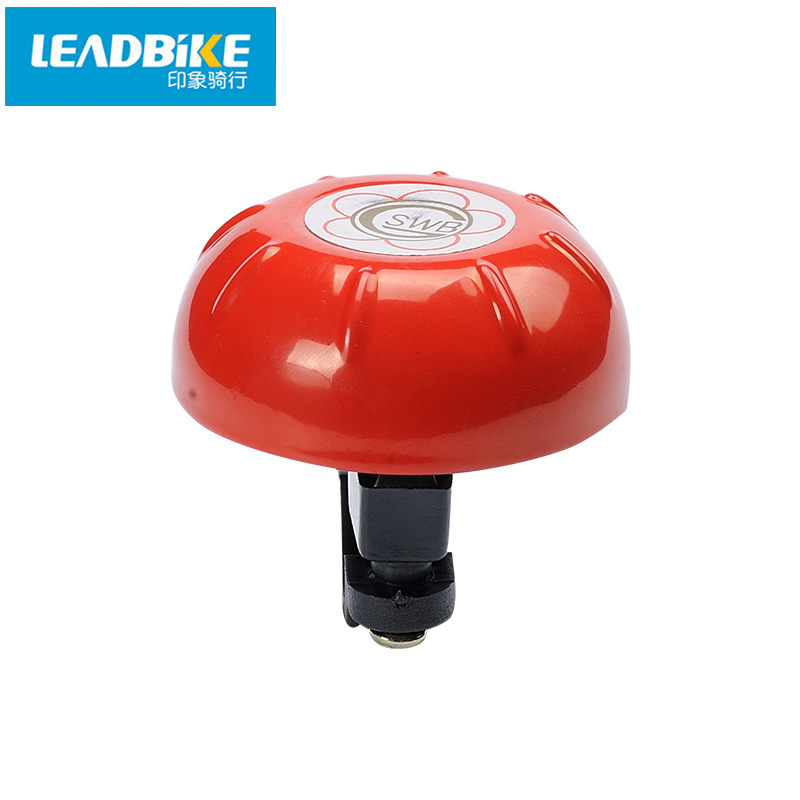 Leadbike Bicycle Ring Steel+Plastic Loud Sound Cycling Bike Bicycle Handlebar Bell Horn Outdoor Sports Accessories