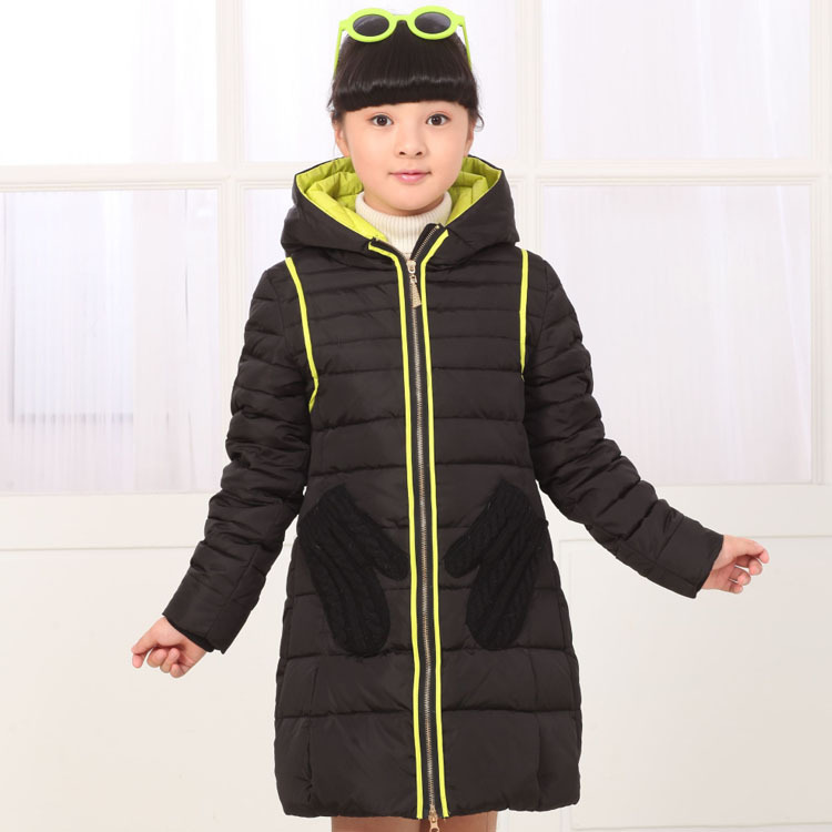 AD White Duck Down Big Girls Teens 90% White Duck Down Jacket Children's Thermal Coat Kids Clothing Clothes jacket ad milano jacket