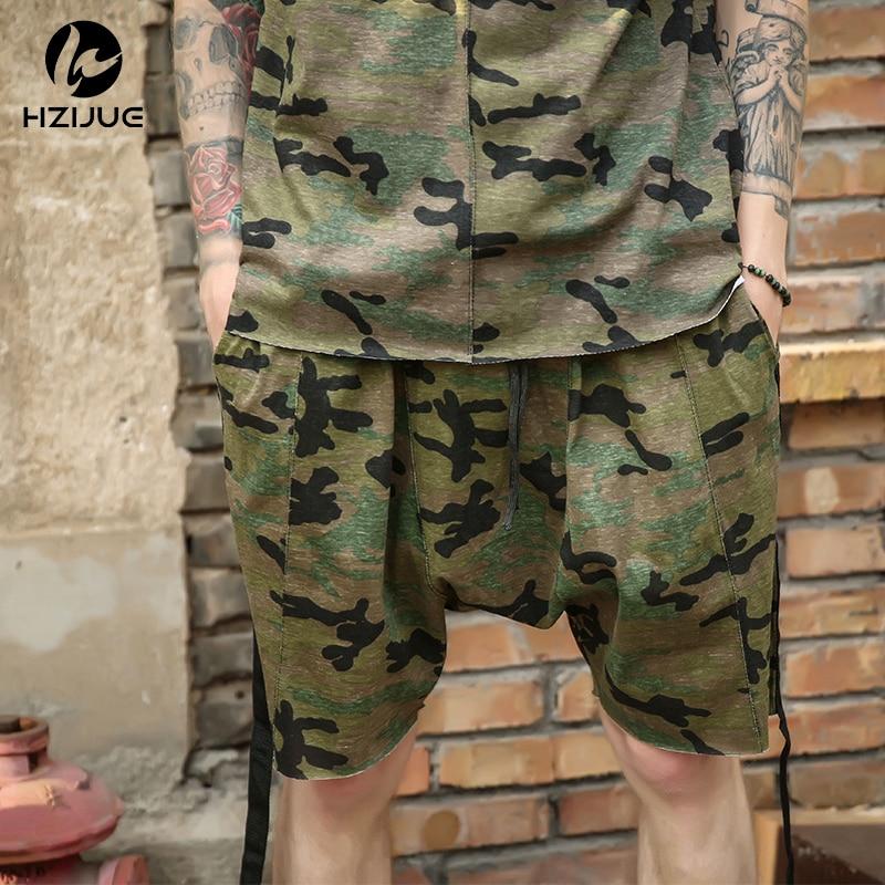HZIJUE moške kratke hlače maskirni hip hop Justin Bieber slog - Moška oblačila - Fotografija 1