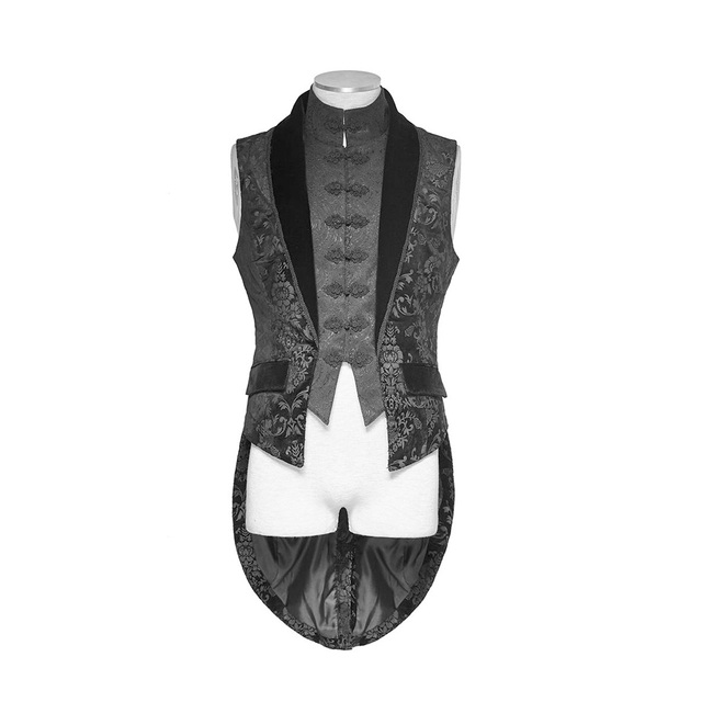 Victorian Vampire Us96 From Aristocrat Reliable Steampunk 8Buy Vest New Punk Rave Fashion Elegant Men Top Y696 Jacket Gothic FcJKTl1