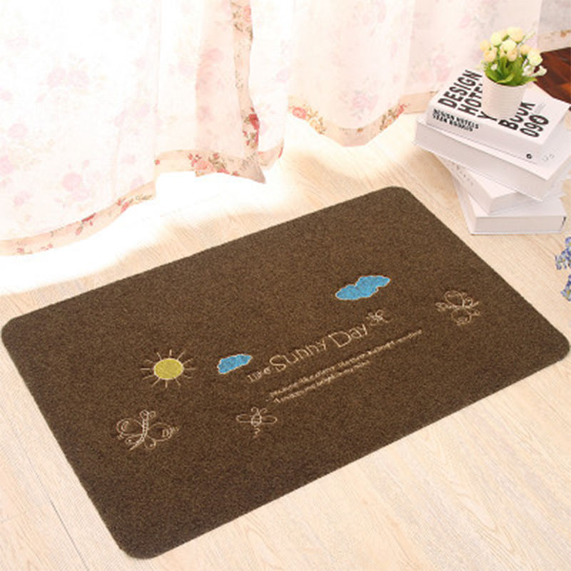 New Pastoral style Home Carpet 4 Colour Sky Floor Carpets Rugs for Bedroom Bathroom Living Room 3D Mats Kitchen Entrance Mat
