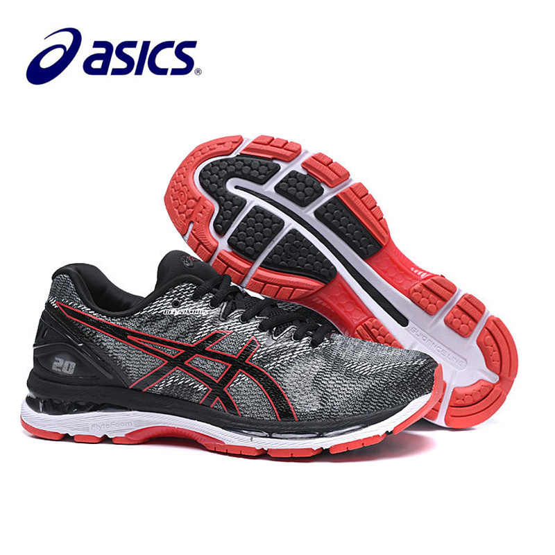 ASICS เจล Nimbus 20 รองเท้าผ้าใบของผู้ชาย Original Running Stability ...