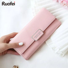 2017 New best Deal Fashion Handbags Lady Women Wallets Bag Popular Purse Long PU Handbags Card Holder Birthday Bags Clutch bag lady clutch large capacity forever young wallet long simple women shoulder crossbody bag handbags card holder birthday bags