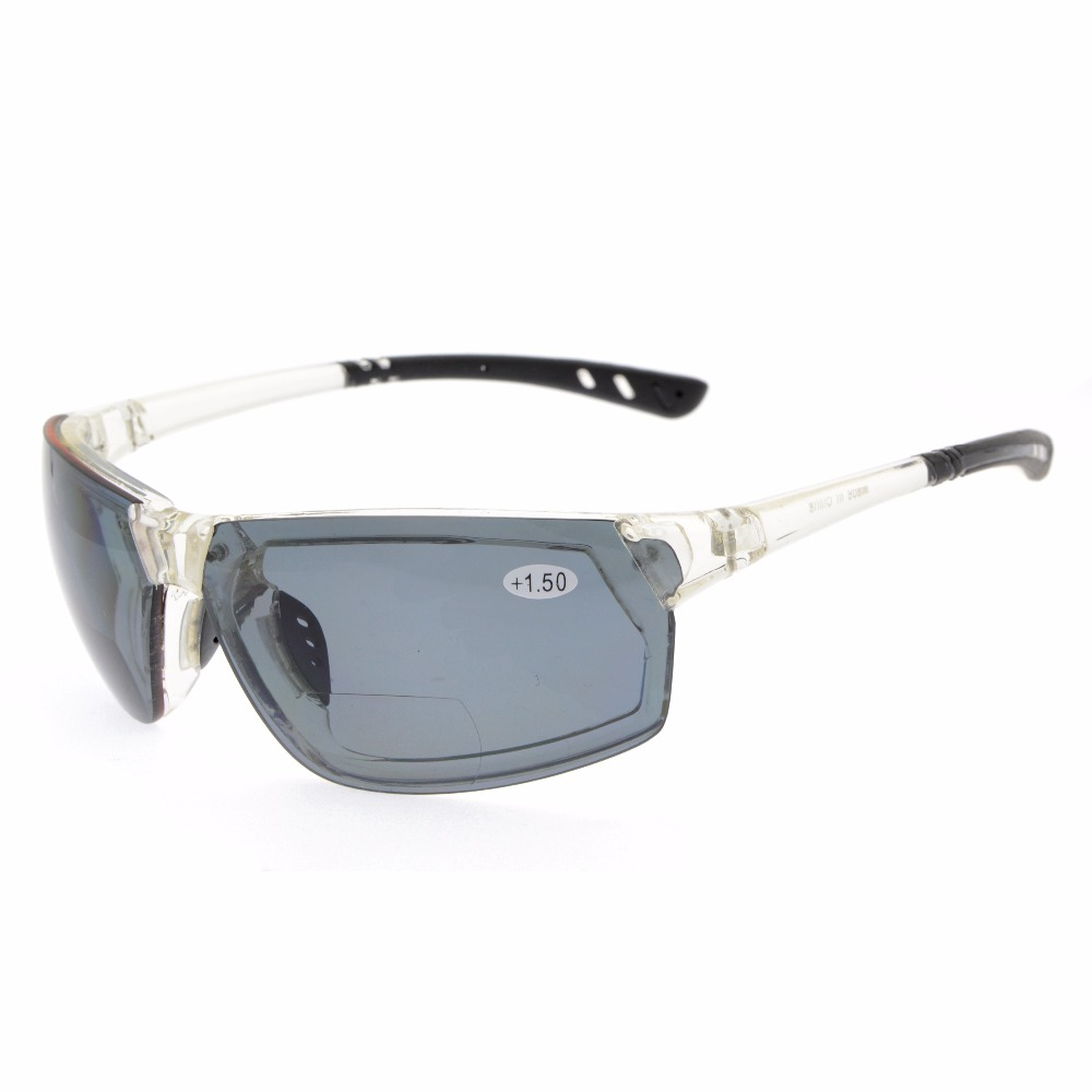 TH6157 Bifocal Eyekepper TR90 Unbreakable font b Sports b font Bifocal Sunglasses 1 0 1 5