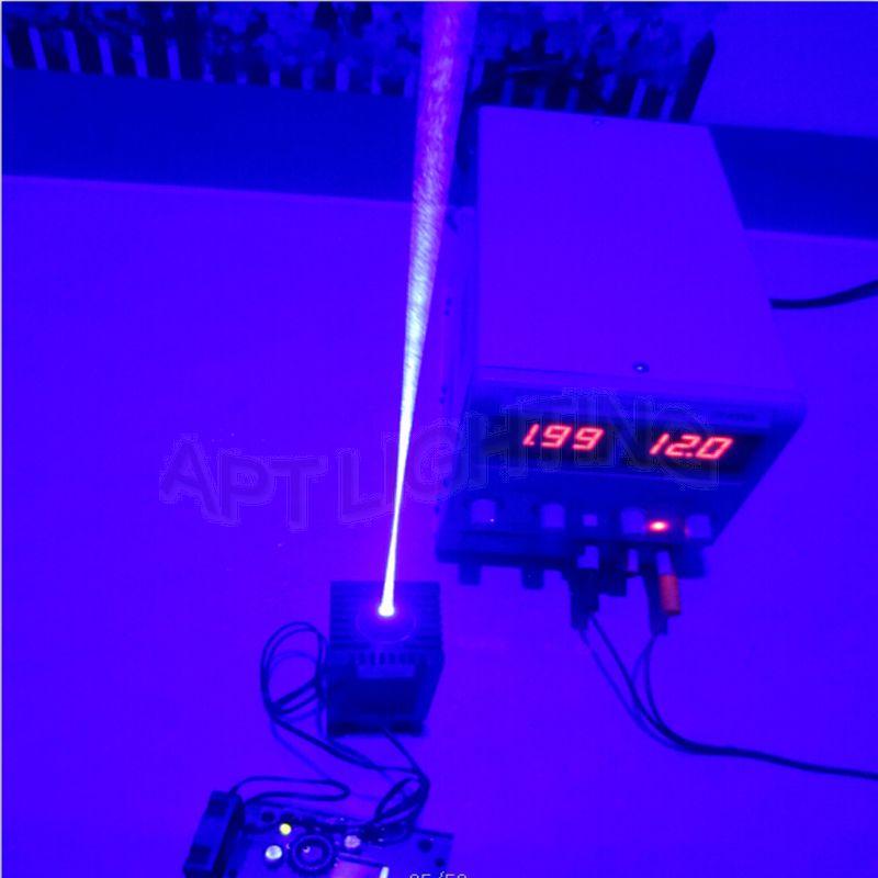VRAIE 3500mw / 3.5w 445 445nm 450nm bleu Diode laser haute puissance - Éclairage commercial - Photo 2