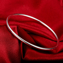 Sterling Silver Bracelet Fashion Personality Simple And Smoo