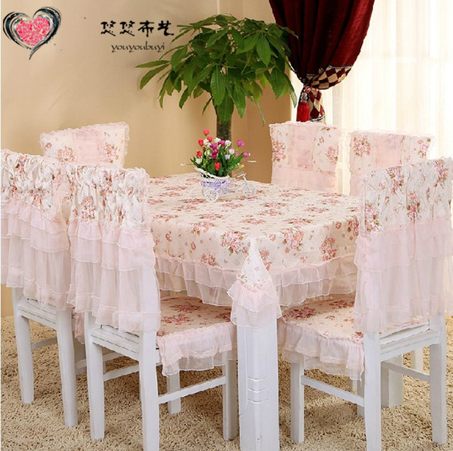 Lace Table Cloth Dining Chair Cover Cushion Tablecloth Round Table Cloth  Fashion Cloth Rustic Tables And