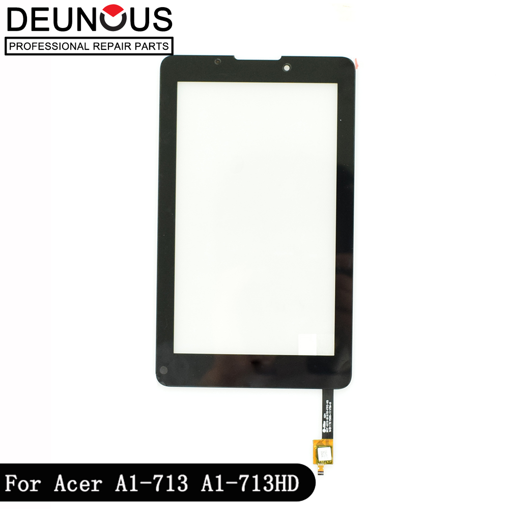 New 7 For Acer iconia Tab7 Tab 7 A1-713 A1-713HD Touch Screen Digitizer Sensor Glass Panel Tablet PC Replacement PartsNew 7 For Acer iconia Tab7 Tab 7 A1-713 A1-713HD Touch Screen Digitizer Sensor Glass Panel Tablet PC Replacement Parts