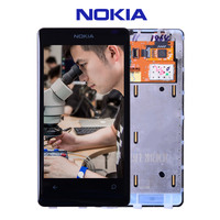Original For Nokia Lumia 800 LCD Touch Screen With Frame For Nokia Lumia 800 Display Digitizer
