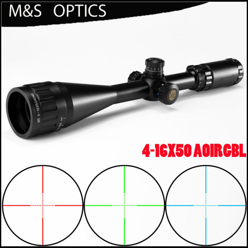 MARCOOL 4-16X50 Mil Dot Optical Sight Hunting Rilfescope Airsoft AirRifles Guns Rifle Scope for Air Guns Hunting marcool alt 4 5 18x44 sfl with big wheel hunting optical sight airsoft air guns scopes riflescope for pistola airsoft air guns