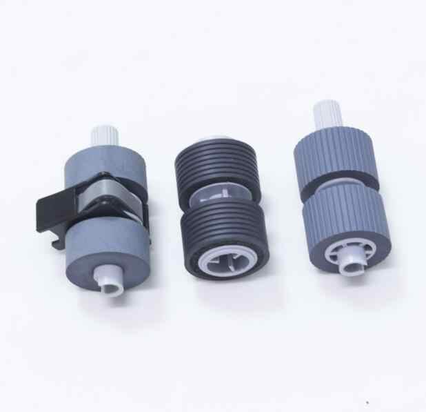 Kompatibel scanner kertas mengambil rol set untuk Fujitsu FI5750 6670 6770 PA03338-K011 PA03576-K010 printer bagian 3 pcs/set 1 set