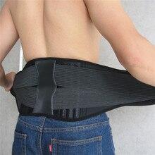 Men Women Corset Orthopedic Back Support Belt Faja Waist Lum