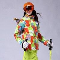 2016มิลลิเซคอน.กีฬากลางแจ้งสกีสวมใส่กันน้ำwindproof weatherizationชุดสกีระบายอากาศ