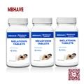 3 Botellas de Melatonina 3 mg de Liberación de Tiempo-60 Tabletas