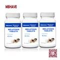 O Tempo de Liberação de Melatonina 3 mg-60 Comprimidos de 3 Garrafas