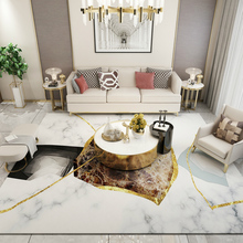 Ins luxury style living room coffee table carpet Crystal velvet Nordic bedroom bedside rug non-slip floor mat customize door mat fashion round carpet bedroom ins bedroom living room coffee table mat bedside carpet anti slip mat strong absorbent carpet