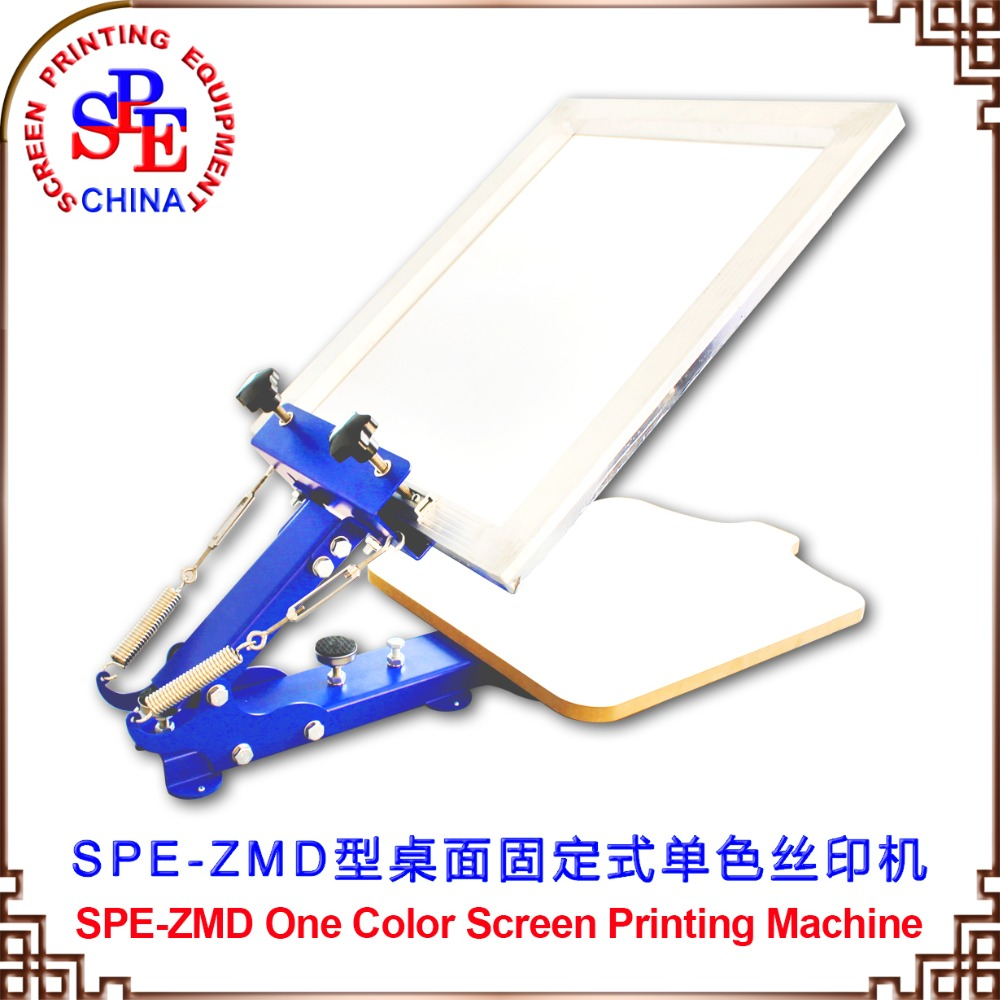 все цены на 006201 screen printing machine ZMD single color screen press one color screen press онлайн