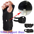 2017 New Hot Carpal Tunnel Medical Wrist Support Brace Support Pads Sprain Forearm Splint Band Strap Protector Safe Size SML
