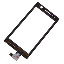 DHL Shipping 50PCS Original New Touch Screen Glass Panel Digitizer For Sony Xperia J ST26i ST26 ST26a Touch Digitizer