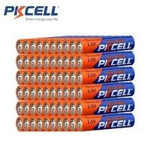 60 × pkcell LR03 1.5vバッテリーaaaアルカリ乾電池E92 AM4 MN2400 MX2400 1.5ボルト3Aためbatteria電子温度計